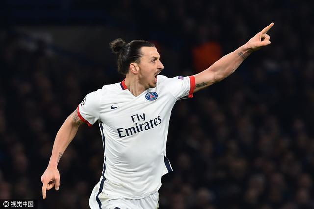 欧冠-切尔西总分2-4落败 伊布传射率巴黎晋级