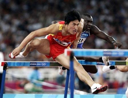 刘翔将成7步上栏第4人 后半程优势助其胜劲敌