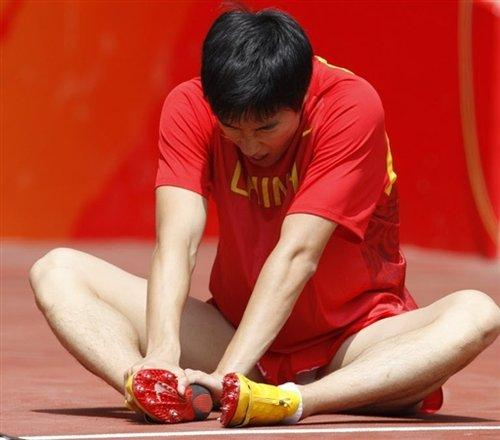 刘翔赴美国并非脚痛复发 矫正鞋垫全球仅一双