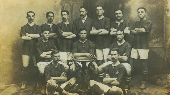 巴塞罗那足球俱乐部1909年-1919年间相关历史