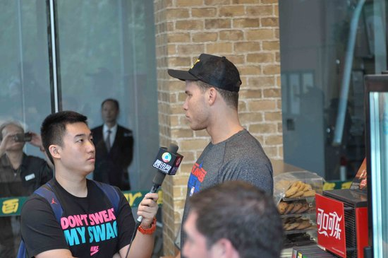 专访格里芬:拜访中国很兴奋 夺冠才能获认可