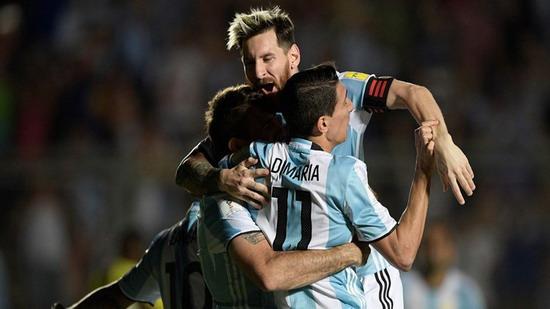 阿根廷3-0哥伦比亚:梅西闪耀全场