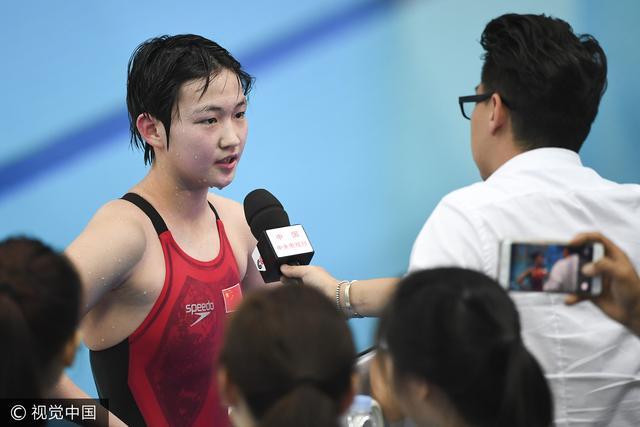全运游泳:孙杨6金无人比 李冰洁前途不可限量