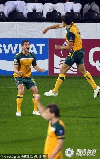 亚洲杯-澳洲1-0巴林进八强 铁腰献世界波绝杀