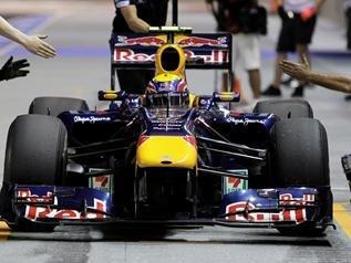 韦伯撞车后仍完赛新加坡站 称主要因运气超好
