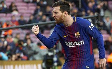 梅西止球荒+西甲造500球 只有门柱才能阻挡他进球