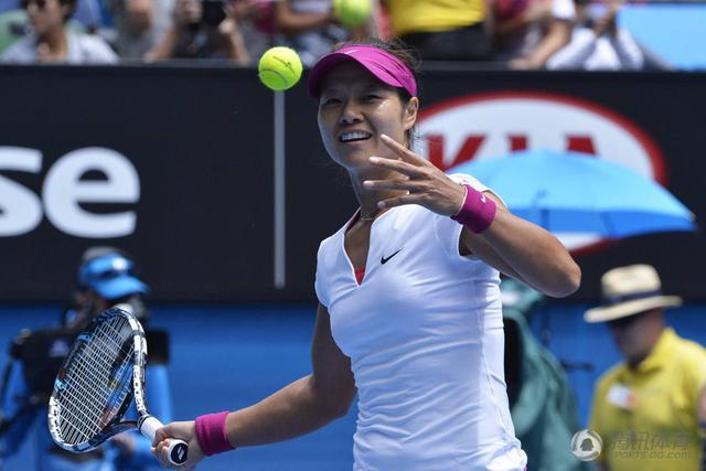 李娜被认定接受场外指导 遭澳网罚款4000美金