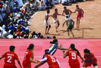 卡巴迪运动源于抵御外敌 选手肺活量大最重要