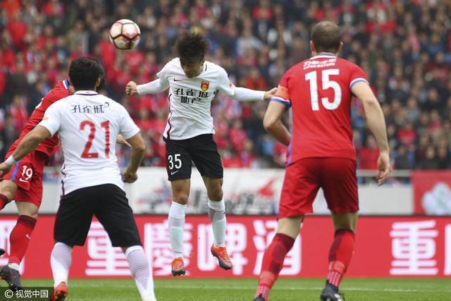 重庆1-1河北开局两连平 U23首球卡尔德克破门