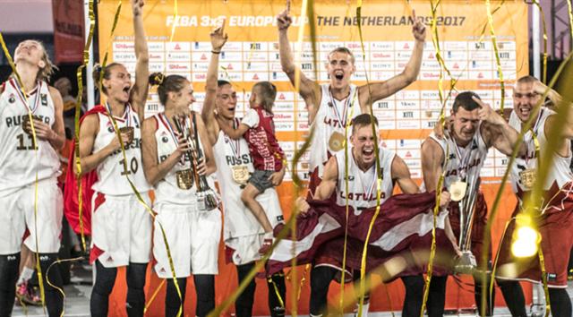 3X3欧洲杯落幕 拉脱维亚男篮俄罗斯女篮夺冠