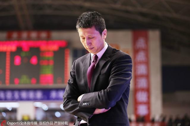 郭士强:失冠让我自责 人生第一次为篮球落泪