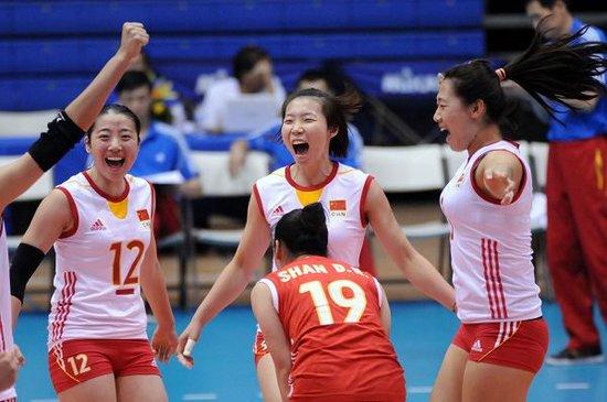 昨天,2013年u23女排世锦赛落下帷幕,中国队(国奥)在决赛中3高清图片