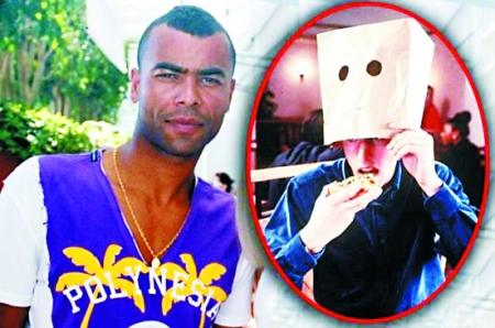 英格兰两罪人获邀拍广告 吃披萨要带头套纸袋