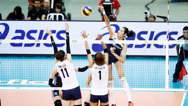 女排大冠军杯中国3-0韩国 第二局现15-0大分差