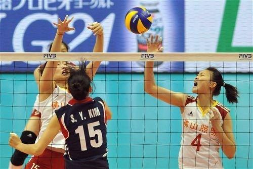 世界杯-中国女排3-0韩国 第2局仅让对手得8分