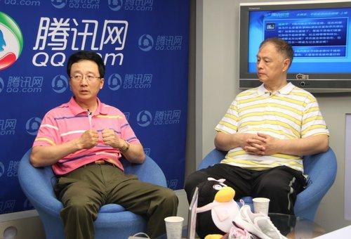 视频:张卫平孙正平做客腾讯 畅聊热门话题