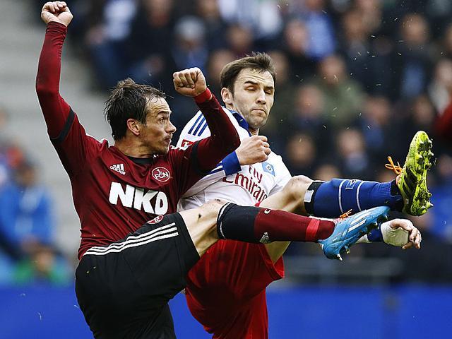 德甲综述-汉堡2-1纽伦堡 法兰克福近6场首败