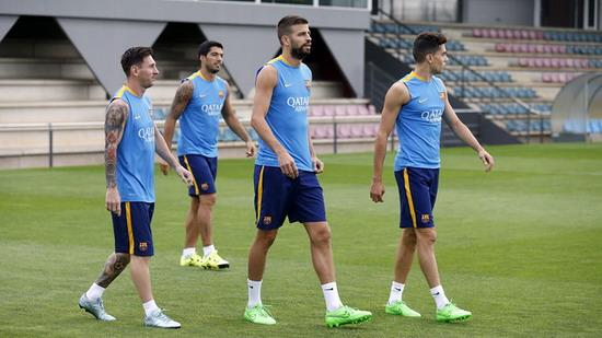 Barcelona announced the list of expedition Super Cup Neymar absent due to illness