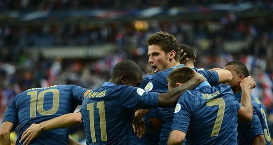 德尚重回世界杯夺冠地 14战不败法国主场威武