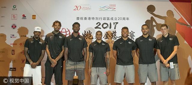 慈善赛老将感叹香港奢华 JR:要出手30次三分