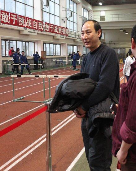 刘翔北京边开两会边训练 孙海平:3月有一战