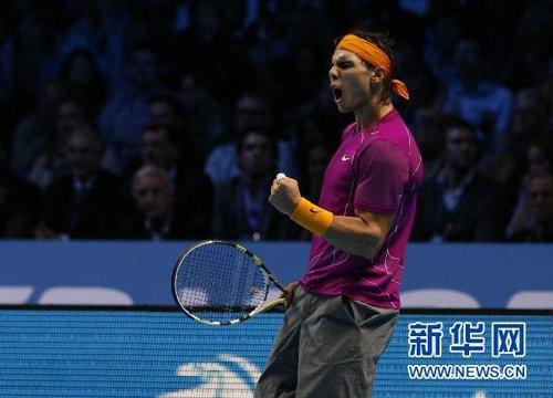 ATP世界巡回赛总决赛:纳达尔球艺人品双赢