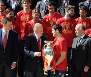 西班牙凯旋国王接见