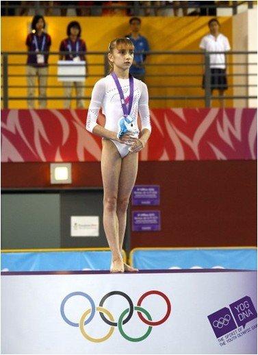 俄罗斯体操名将之科莫娃