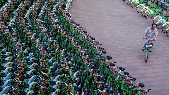 港媒:中国自行车数量第一却疲弱乃耻辱