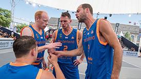 FIBA3X3世界杯首日战况-荷兰男女篮全胜抢镜