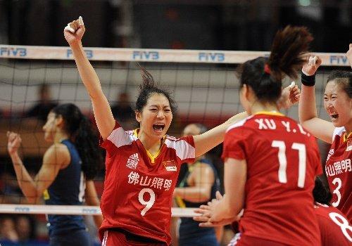 总统杯中国女排3-2巴西 单局37-35第三度夺冠