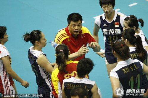 亚洲杯中国女排3-0横扫伊朗 俞家军取开门红