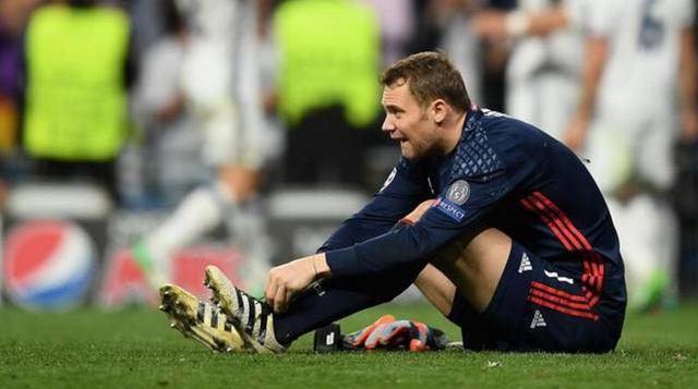拜仁官方宣布诺伊尔左脚骨折 赛季已提前报销
