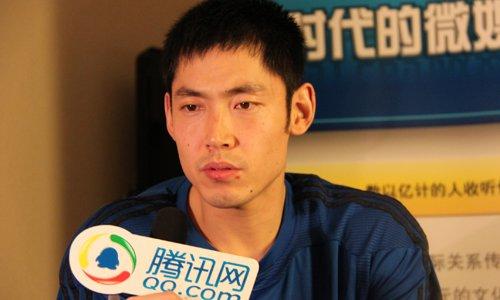 腾讯专访张庆鹏:想回到辽宁 全队目标总冠军