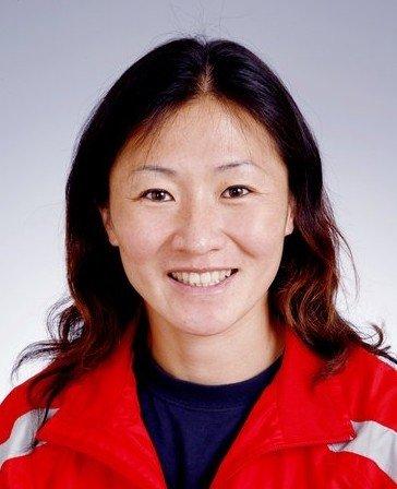 中国女曲主力队员——程晖