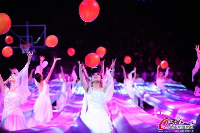 全明星开幕式诠释篮球梦 首发登场配京剧主题