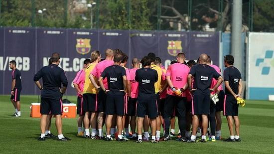 Barca prepare for the new season to compete for time-baked International Cup