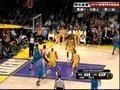视频:黄蜂vs湖人 保罗二度巨献霸气压哨三分