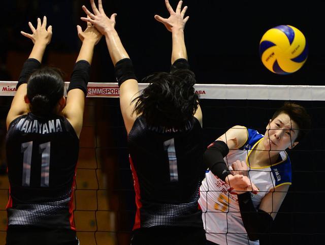 女排亚洲杯八强战:中国遇中华台北 泰韩对决