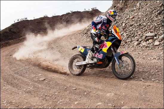 摩托车组第五赛段德普雷最快 扩大总成绩优势
