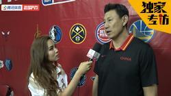 专访李楠:中国球员夏联长见识 后卫需学习骑士新秀