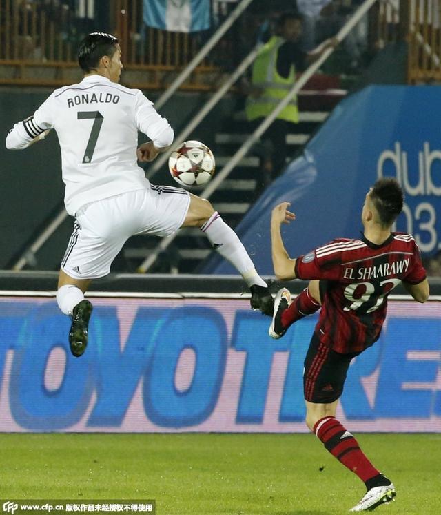 迪拜杯-皇马2-4不敌米兰 C罗破门小法老两球
