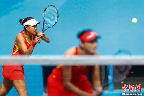 网球女团1/4决赛中国胜吉尔吉斯斯坦