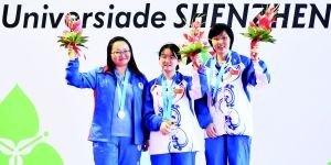 国象女子冠军谭中怡:下棋的时间比上课还多