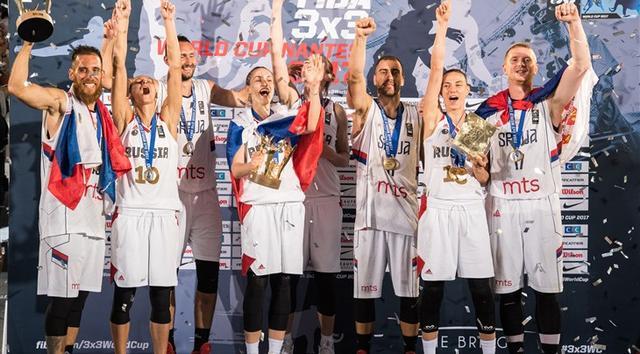 FIBA3X3世界杯:塞尔维亚卫冕 俄女队夺冠军