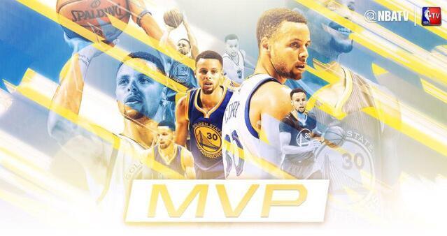 常规赛MVP票选公布 库里全票当选成历史第一人