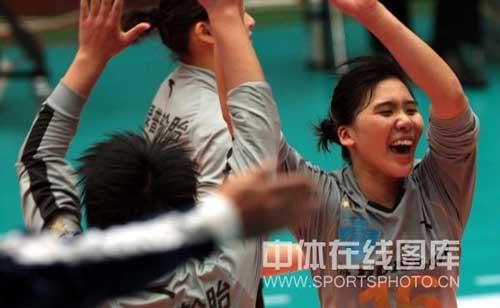 中国女排运动员卞雨倩