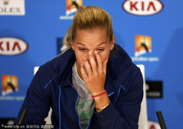 齐布尔科娃盛赞李娜:伟大的运动员!