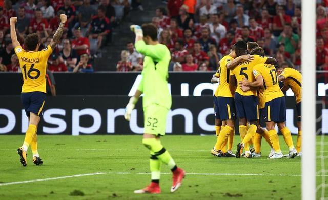 奥迪杯-马竞总分6-5胜利物浦夺冠 亨德森失点
