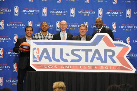 2011年全明星LOGO公布 科比有望第四次获MVP